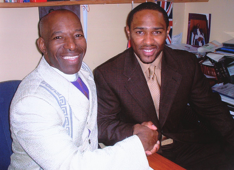 Apostle McFarlane & Gospel Singer Anthony Falkner