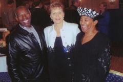 Apostle & First Lady McFarlane with Joyce Myers