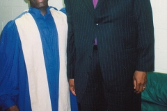 Apostle McFarlane & Chief Apostle Cornelius F. Showell