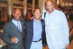 Apostle McFarlane, Ken Tucker & Pastor Donnie McClurkin